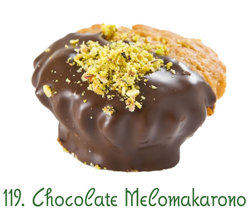 119. Chocolate Melomakarono