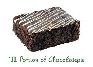 130. Portion of Chocolatepie