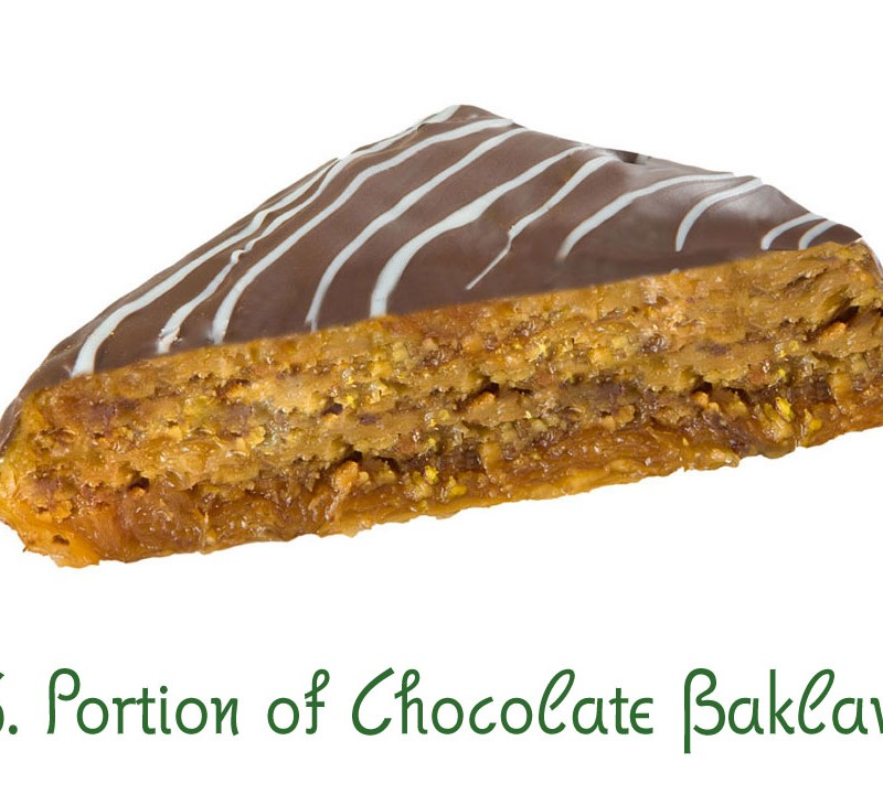 76. Portion of Chocolate Baklava