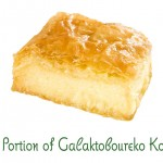 84. Portion of Galaktoboureko Kofto