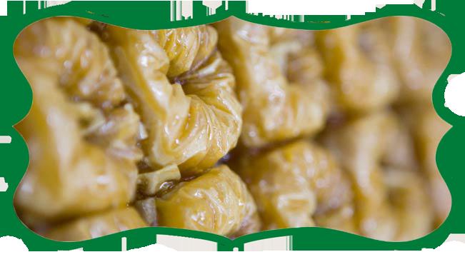 σιροπιαστά γλύκα ανατολής