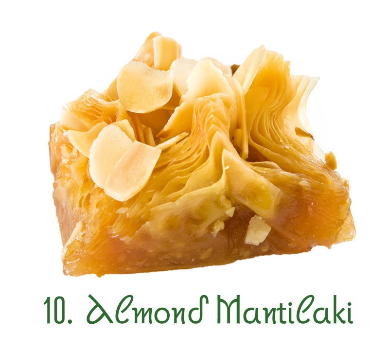 10. Almond Mantilaki