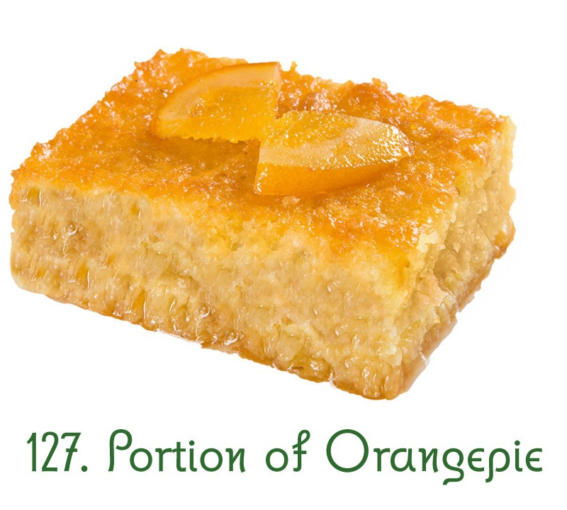 127. Portion of Orangepie