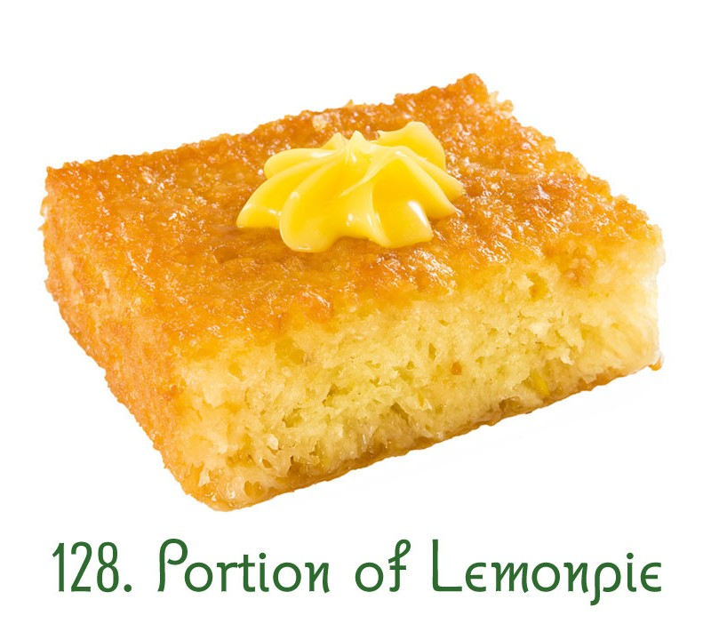128. Portion of Lemonpie