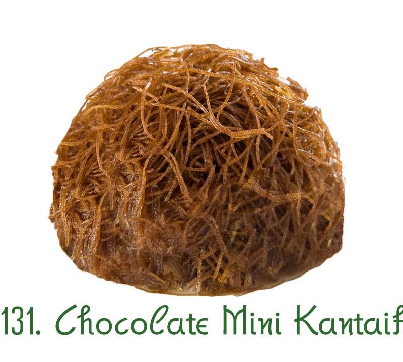 131. Chocolate Mini Kantaifi