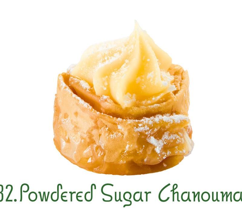 132. Powdered Sugar Chanoumaki