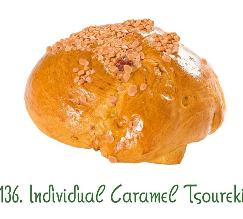 136. Individual Caramel Tsoureki