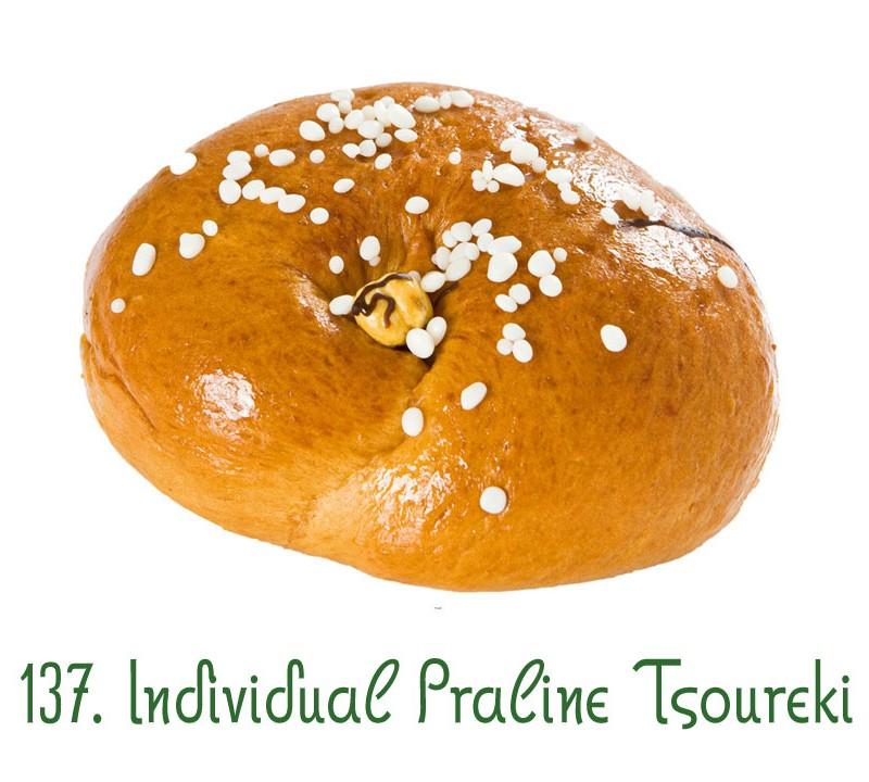 137. Individual Praline Tsoureki