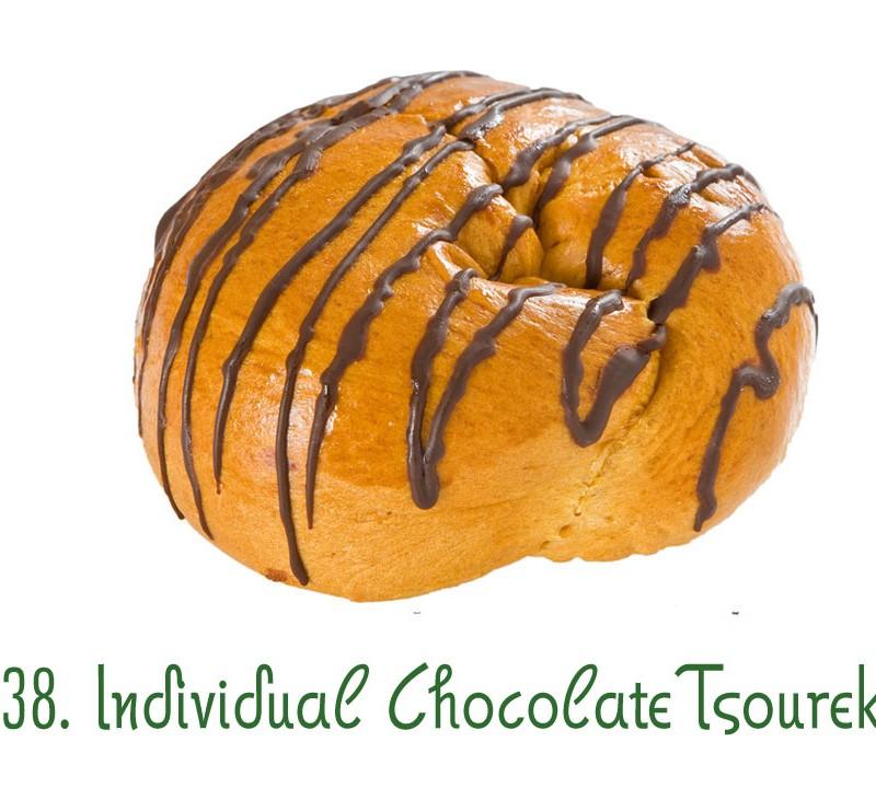 138. Individual Chocolate Tsoureki