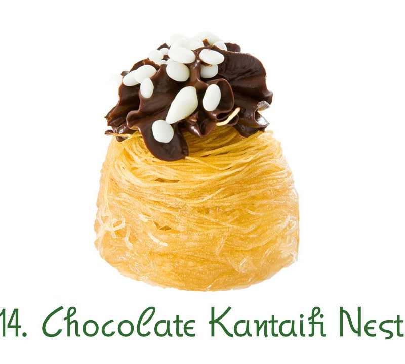 14. Chocolate Kantaifi Nest