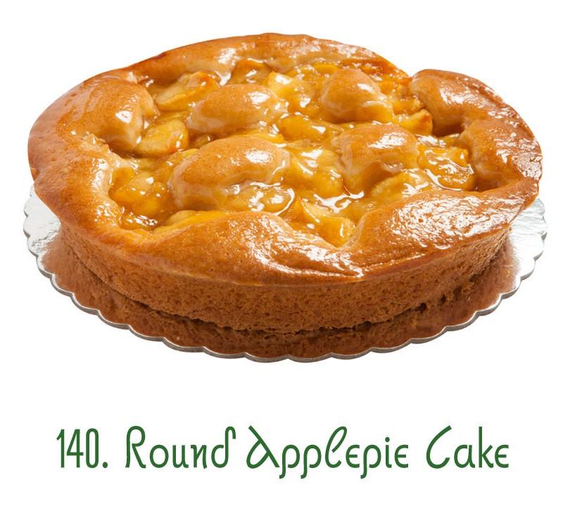 140. Round Applepie Cake