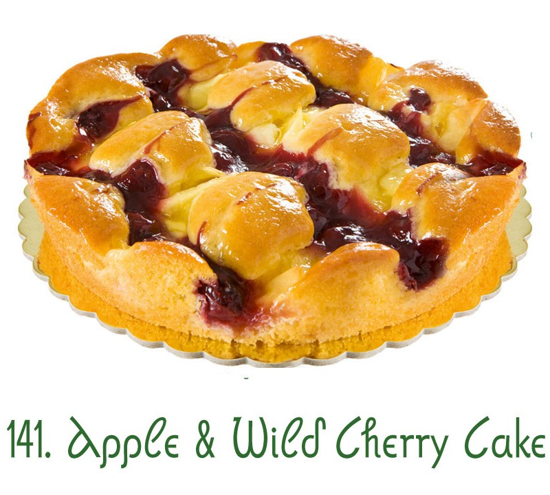 141. Apple Wild Cherry Cake