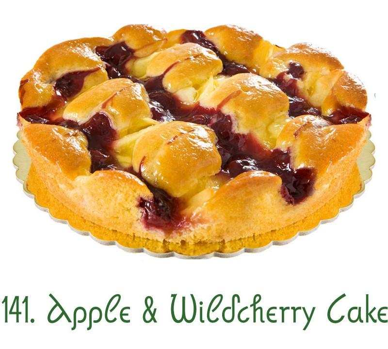 141. Apple Wildcherry Cake