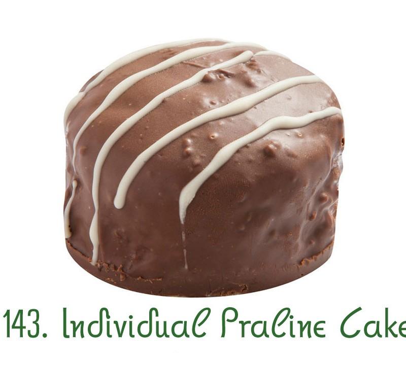 143. Individual Praline Cake