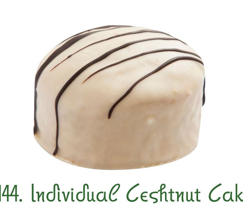 144. Individual Ceshtnut Cake