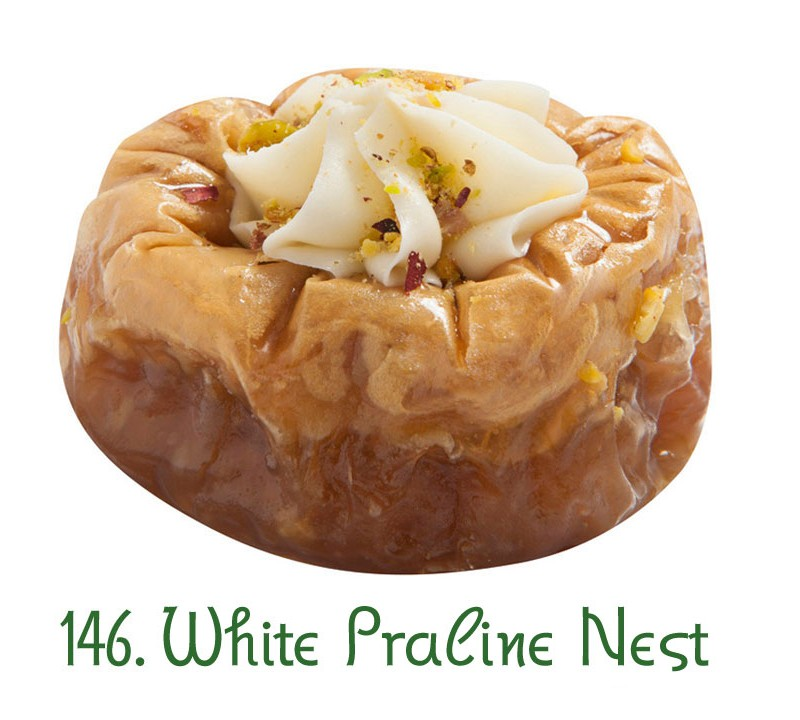 146. White Praline Nest