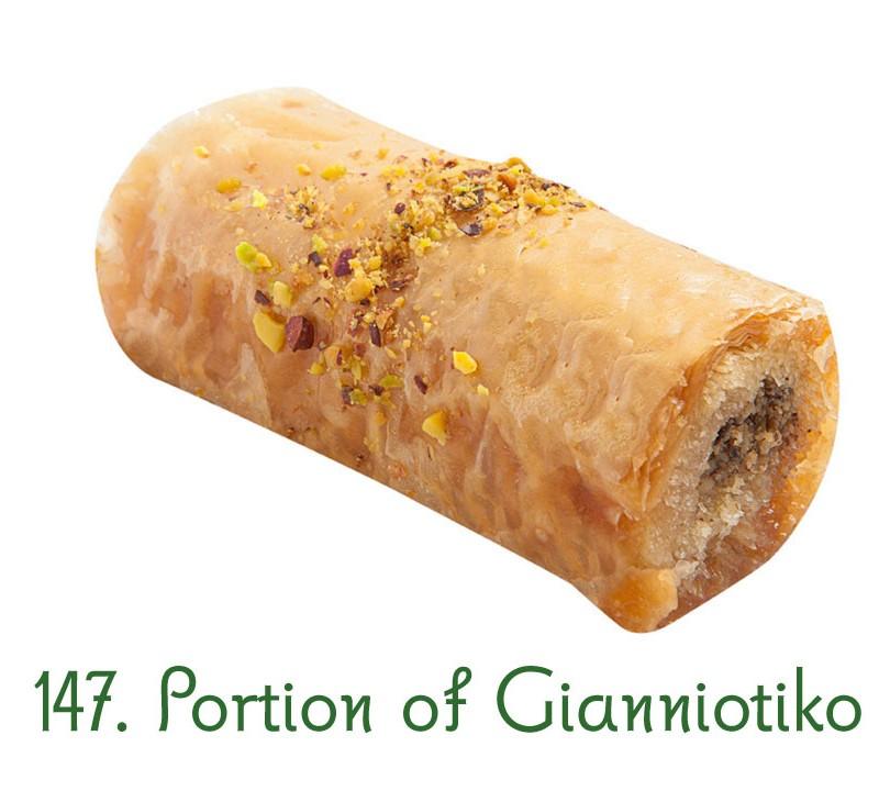 147. Portion of Gianniotiko