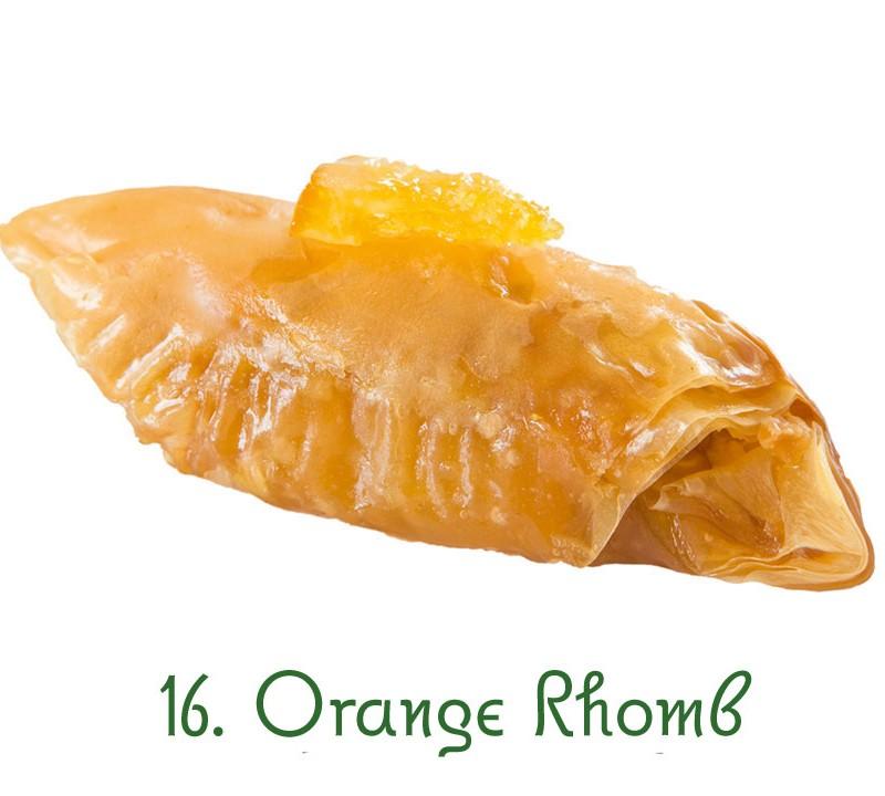 16. Orange Rhomb