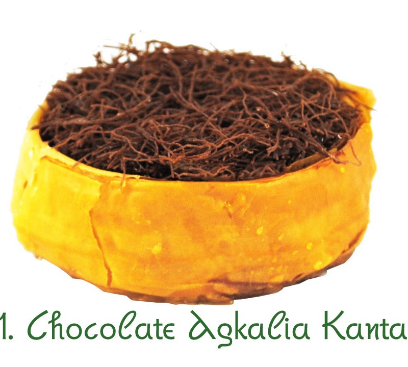 161. Chocolate agkalia kantaifi