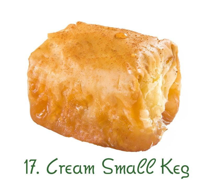 17. Cream Small Keg