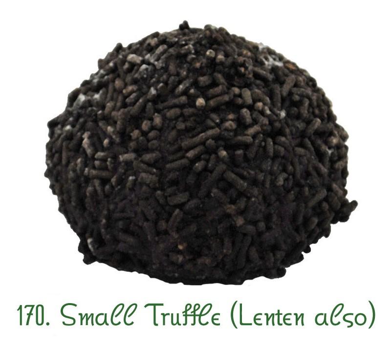 170 Lenten truffle