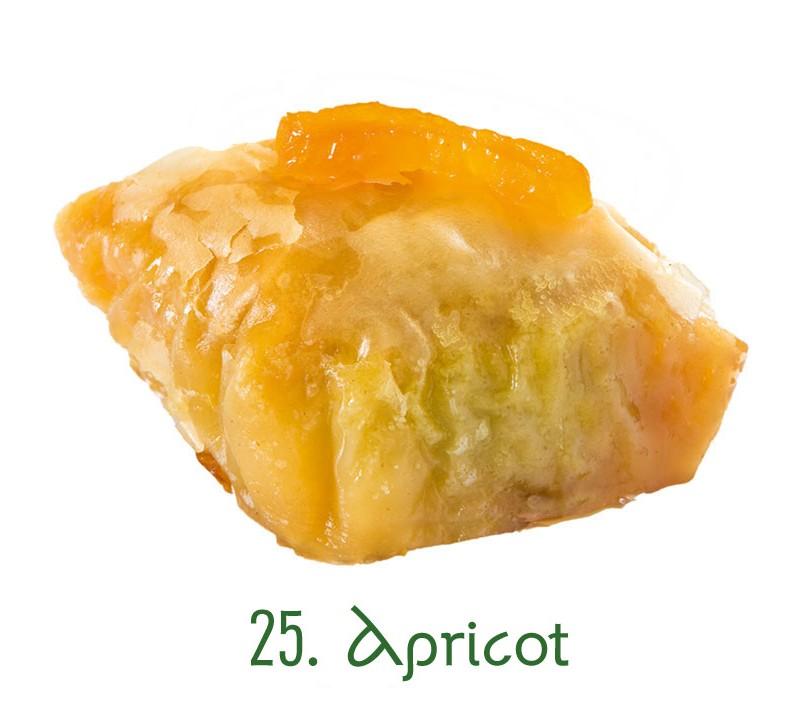 25. Apricot