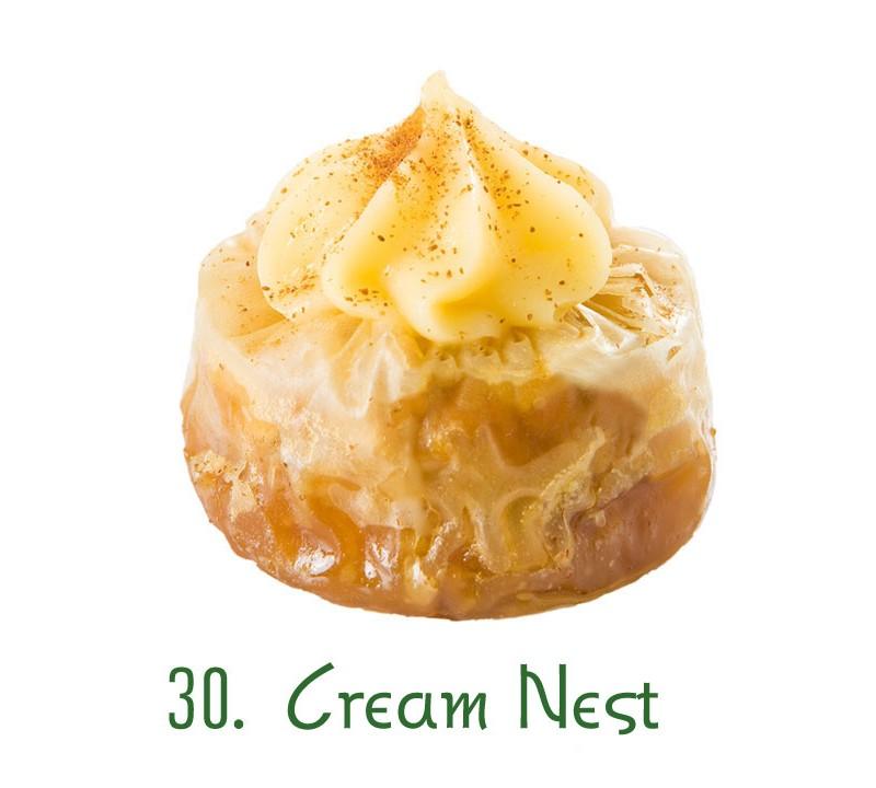 30. Cream Nest
