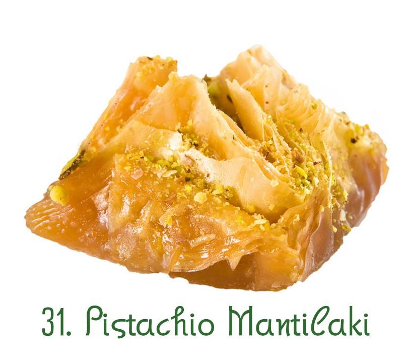 31. Pistachio Mantilaki