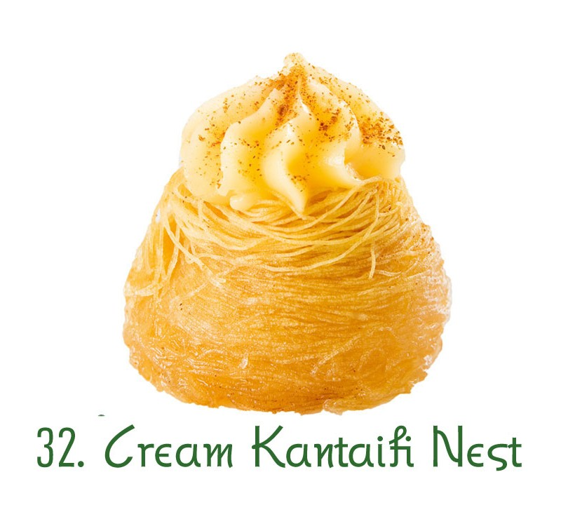 32. Cream Kantaifi Nest