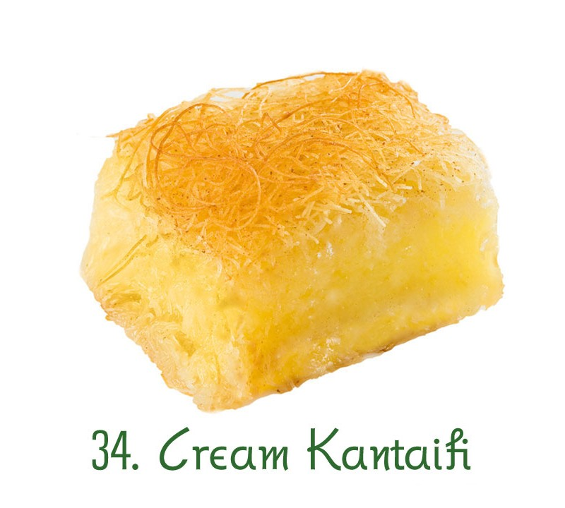 34. Cream Kantaifi