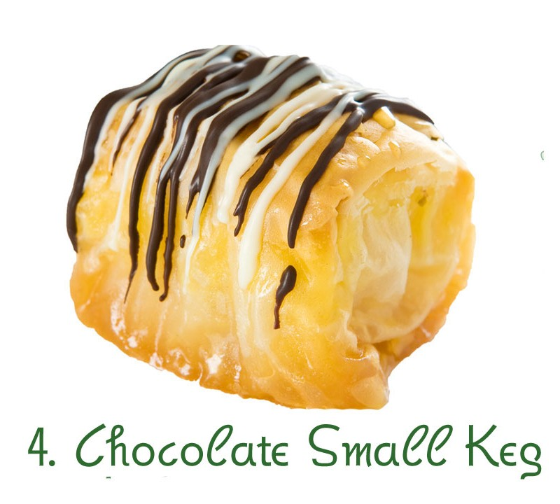 4. Chocolate Small Keg