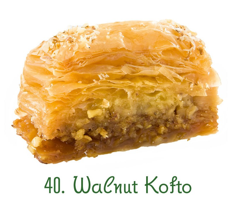 40. Walnut Kofto