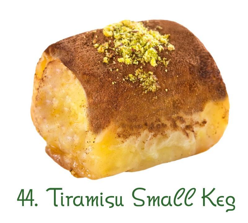 44. Tiramisu Small Keg