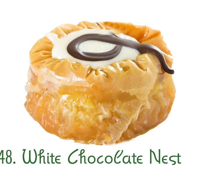 48. White Chocolate Nest
