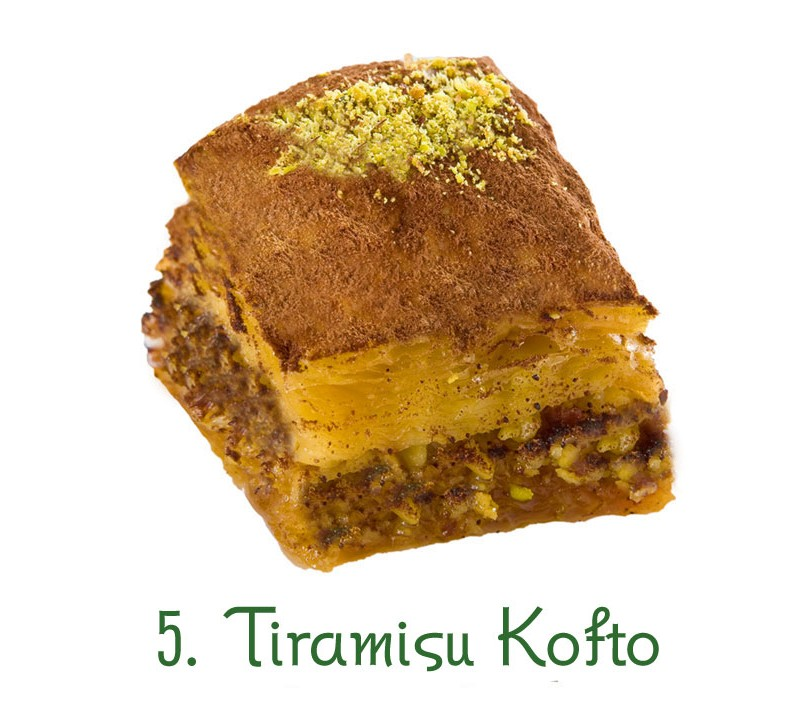 5. Tiramisou Kofto