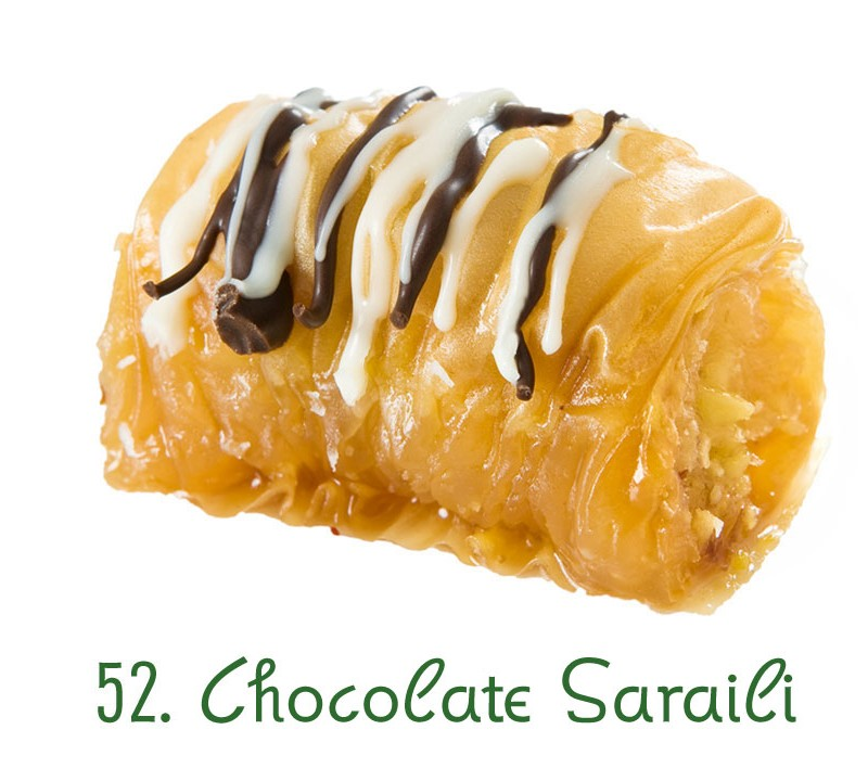 52. Chocolate Saraili