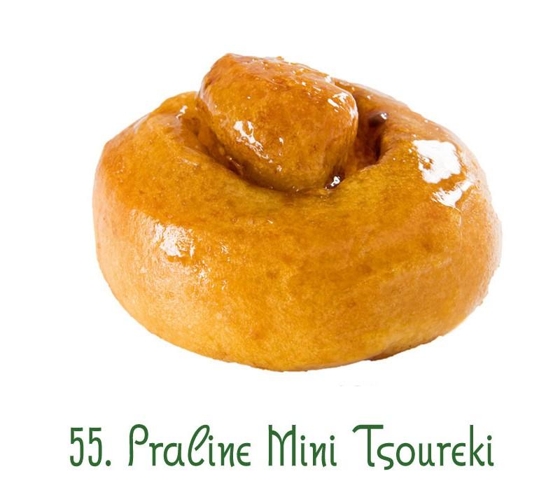 55. Praline Mini Tsoureki
