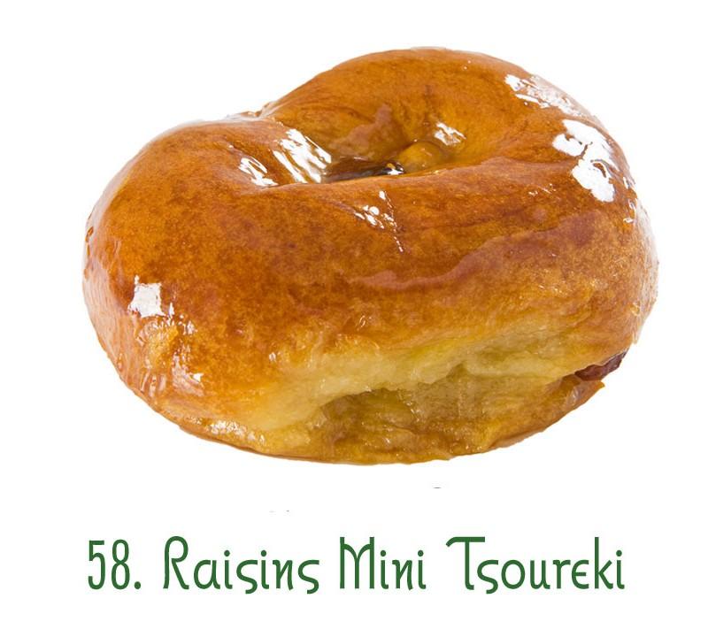 58. Raisins Mini Tsoureki