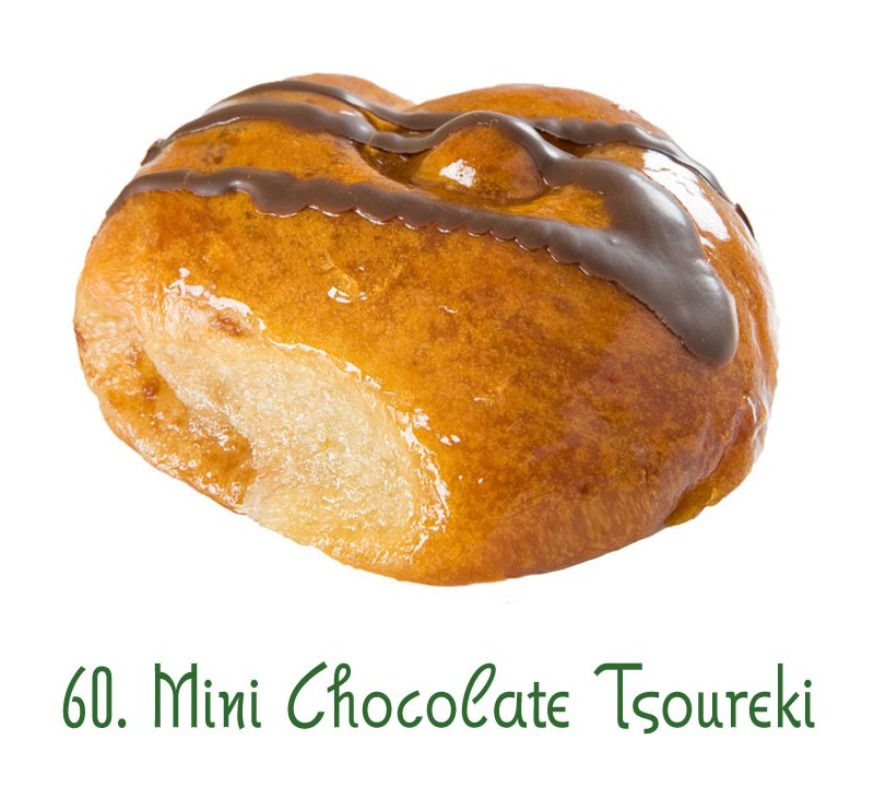 60. Mini Chocolate Tsoureki