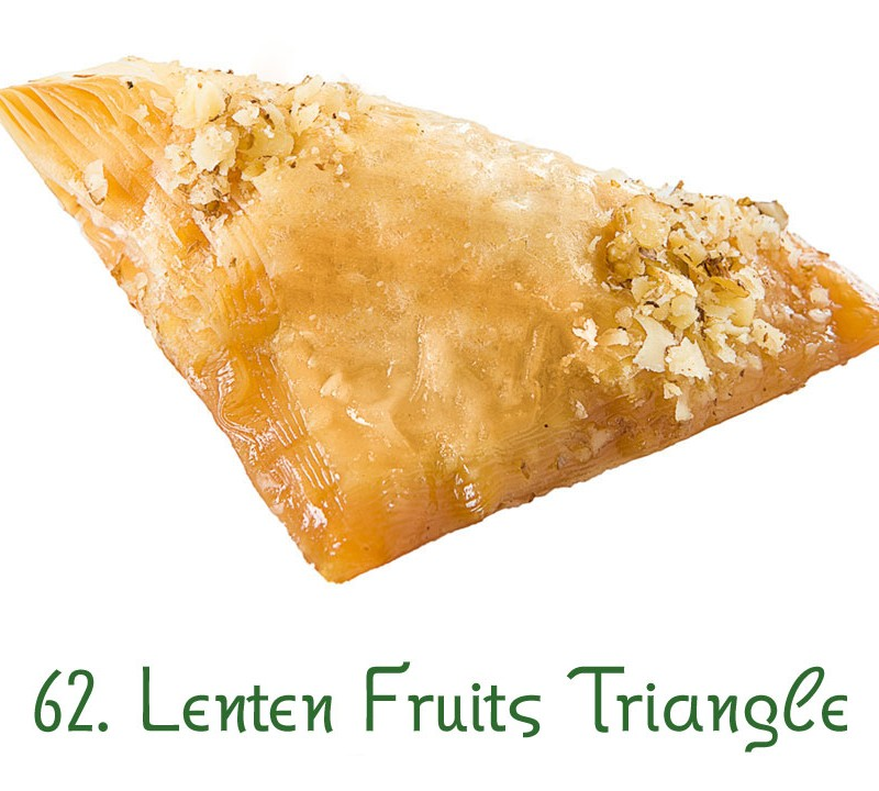 62. Lenten Fruits Triangle