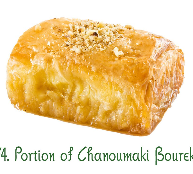 74. Portion of Chanoumaki Boureki