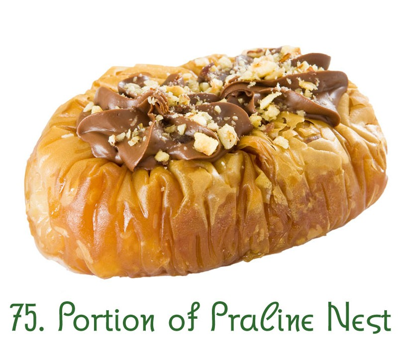 75. Portion of Praline Nest