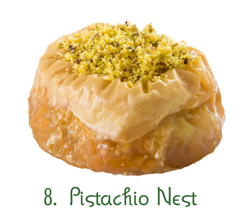 8. Pistachio Nest