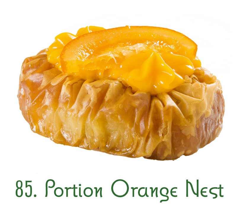 85. Portion Orange Nest