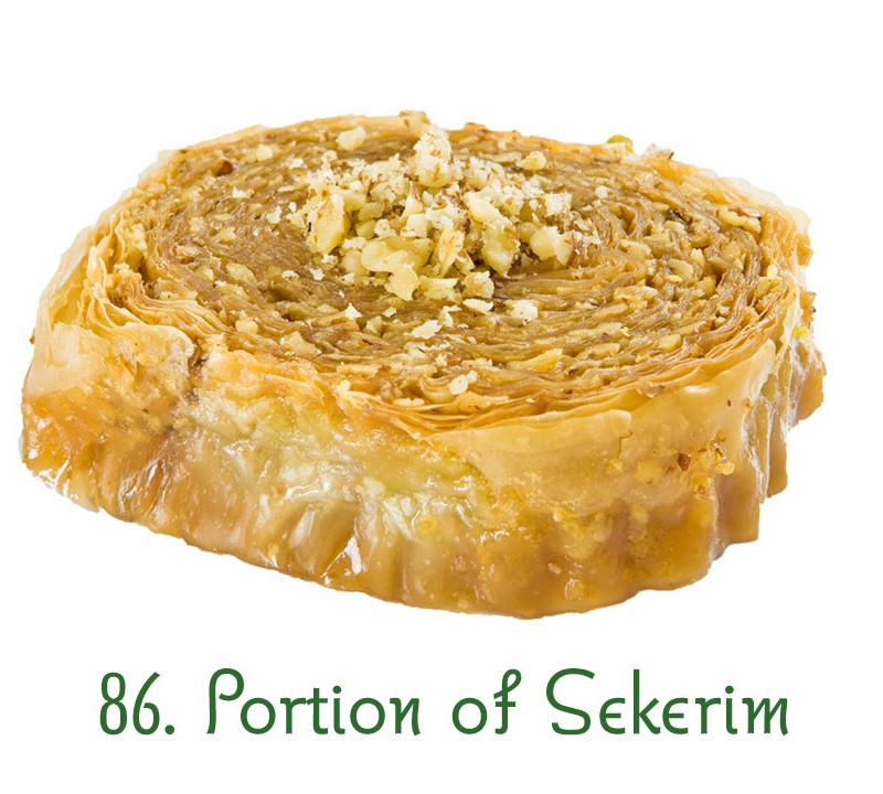 86. Portion of Sekerim