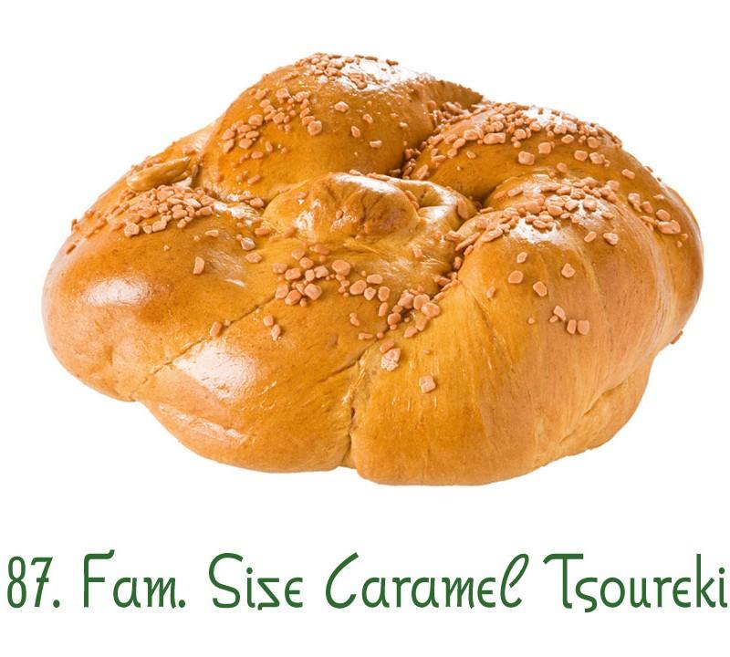 87. Family Size Caramel Tsoureki