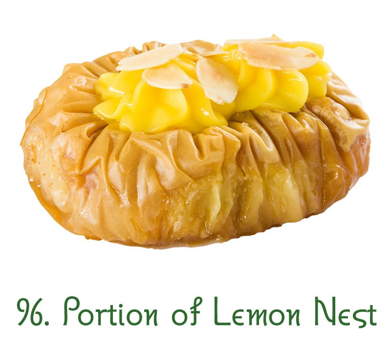 96. Portion of Lemon Nest