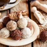 Truffles with halva